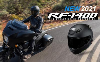 It has arrived - the all-new Shoei RF-1400 Helmets