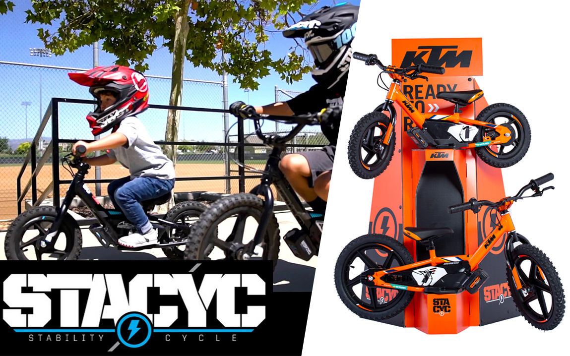 Stacyc KTM Electric Bikes for Kids